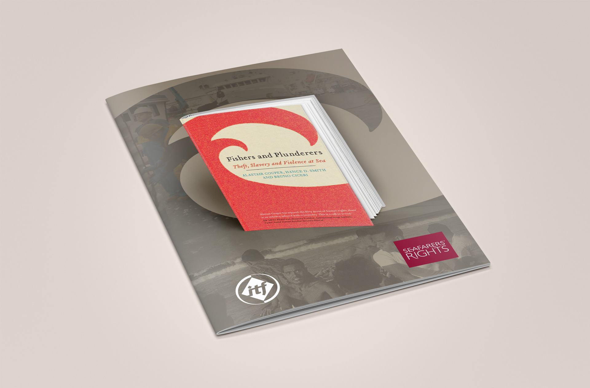 SRI Book Brochure Design