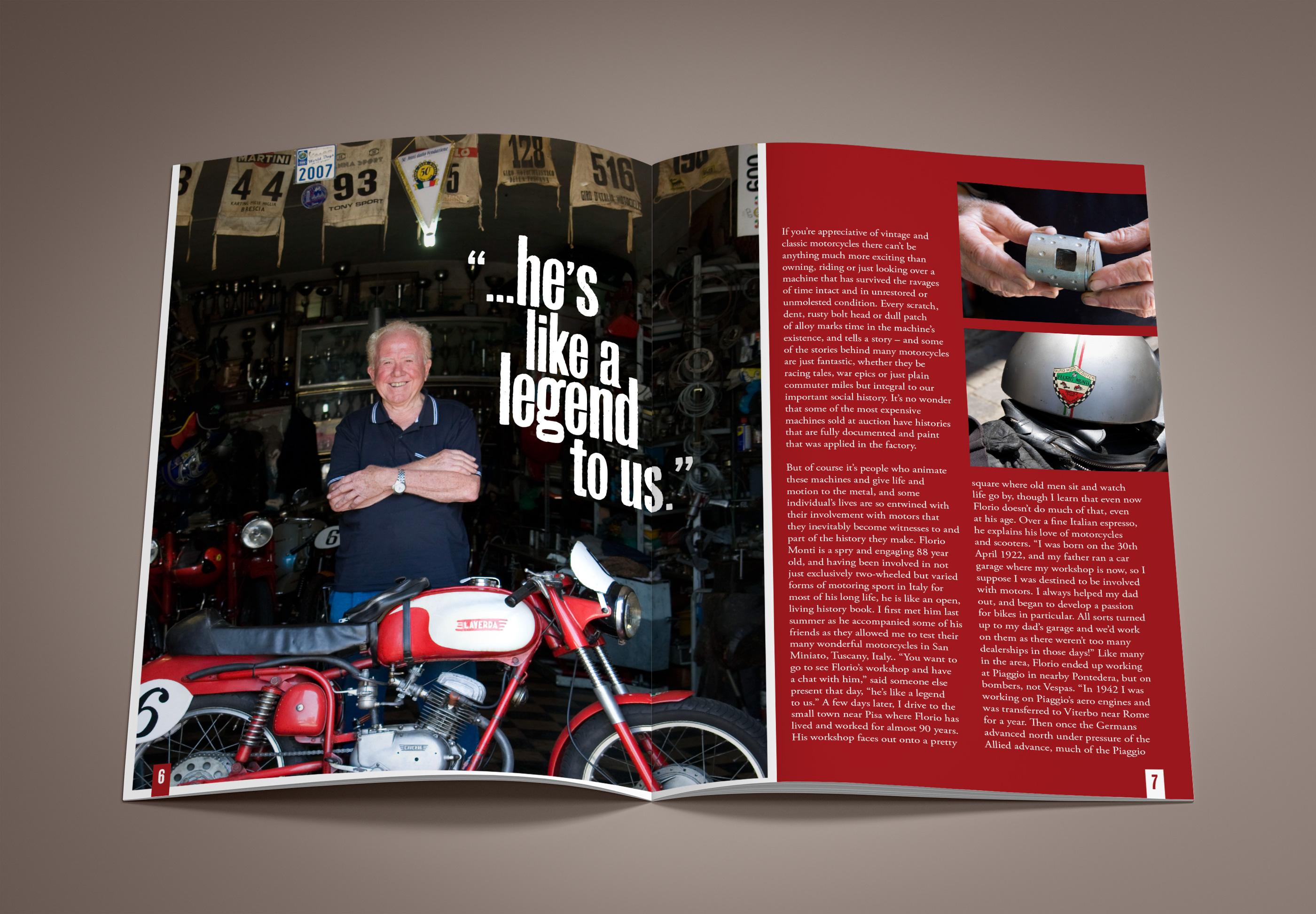 Italian Motor Magazine Design 02