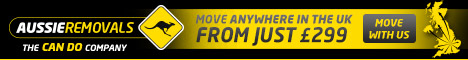 Aussie Man & Van Banner Advert