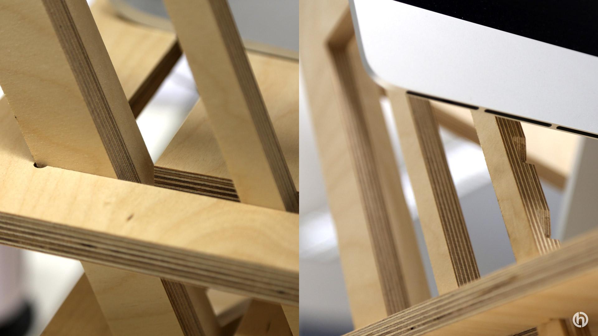 Helmm standing desk details