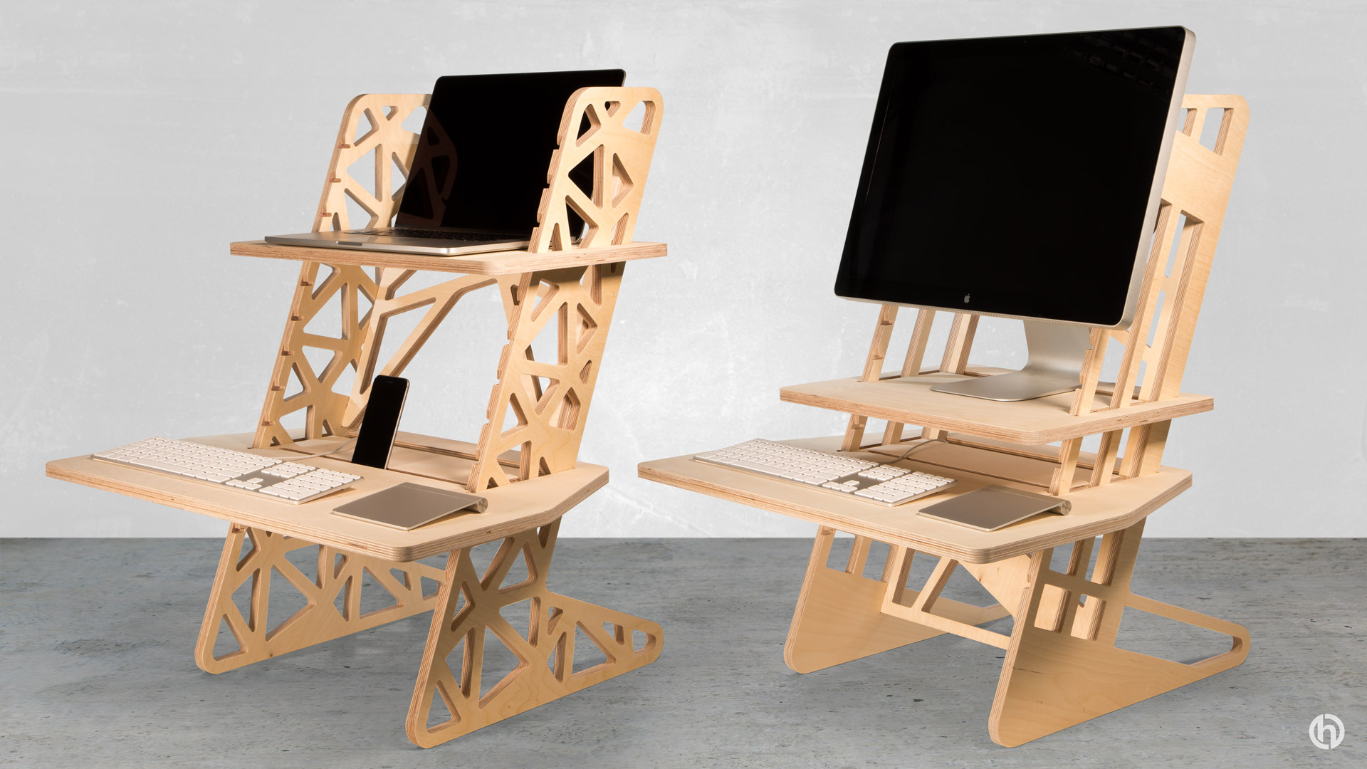 Helmm Standing Desk Pair