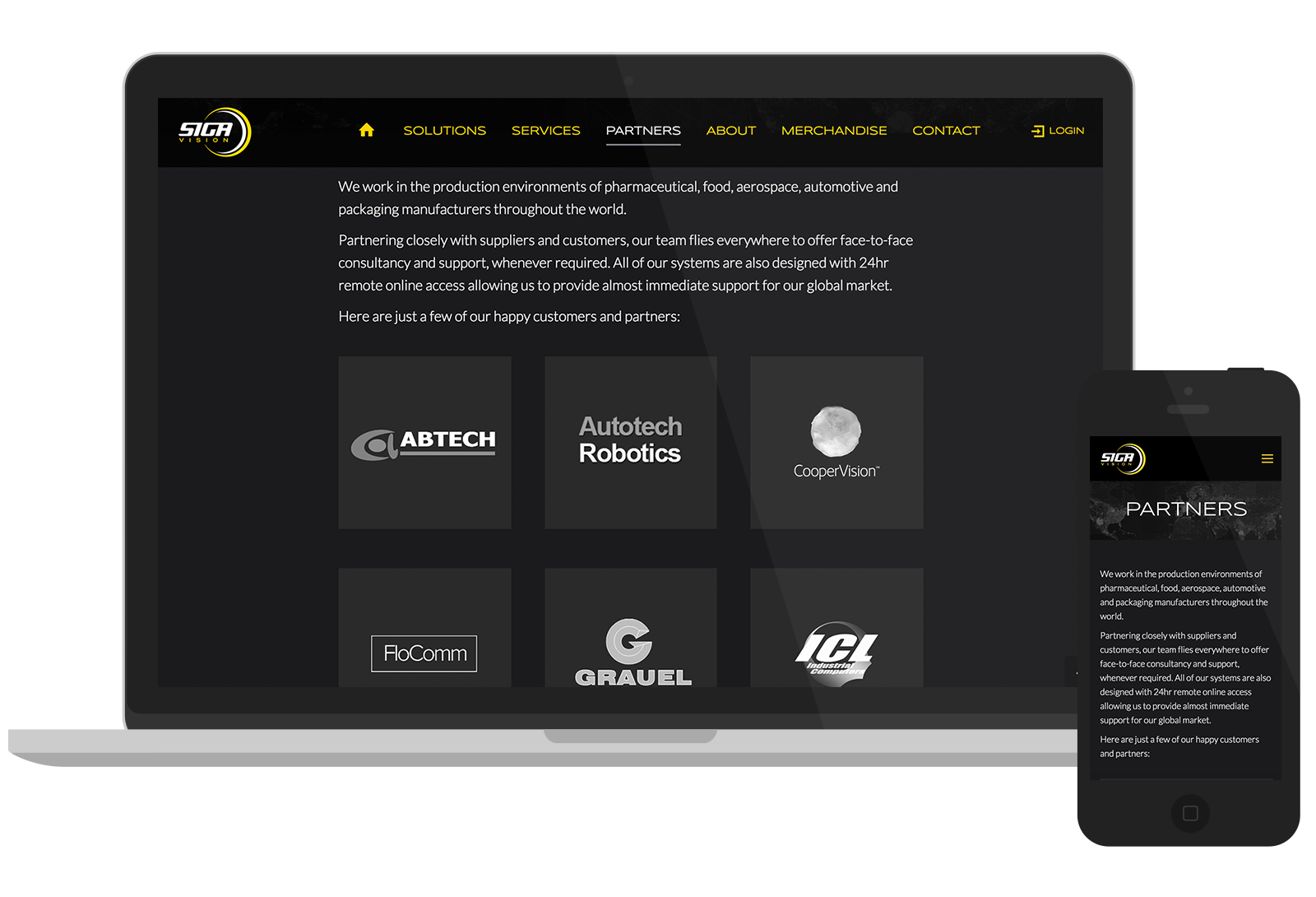 SIGA Vision Website Design 01