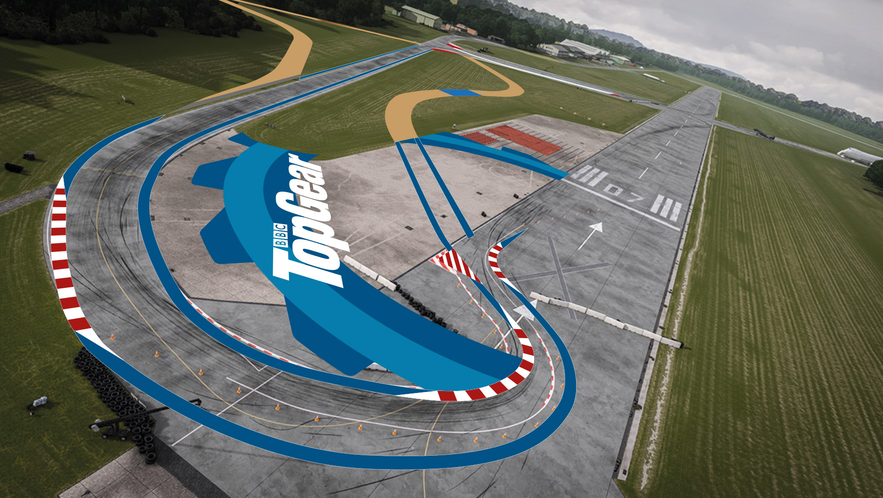 Dunsfold Circuit Visual 1